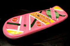 Back to the future Hoverboard cake by debbiedoescakes, via Flickr