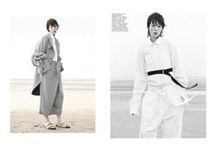 Joe McKenna rules Sur le sable (Vogue Paris)