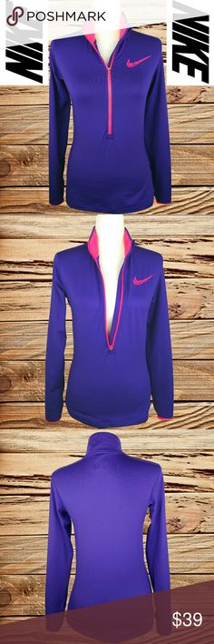 NIKE - PRO DRI-FIT HALF ZIP JACKET NIKE - PRO DRI-FIT HALF ZIP JACKET   (EVERY ITEM IS DRY CLEANED!  EVERY ITEM IS WRAPPED!)  BUY TWO OR MORE ITEMS AND SAVE 10%!! Nike Tops Sweatshirts & Hoodies