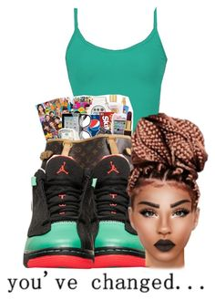 """You've changed"" by queenbaddiie ❤ liked on Polyvore featuring BKE core"