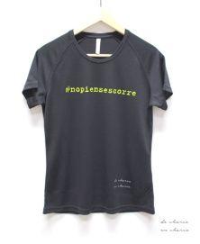 Disponibles / available at http://www.etsy.com/es/shop/DECHARCOENCHARCO Camiseta técnica hombre /mujer #nopiensescorre. I love #running #fitness. Camisetas para toda la familia. #moda #tendencias #camisetasconmensaje #trends #streetstyle #nuevacoleccion #decharcoencharco #decharcoencharcoblog #decharcoencharcocollection #primaveraverano