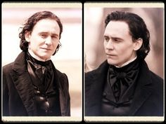 Tom on set for Crimson Peak and just as i see him in Divided albeit with longer hair. Perfection