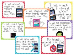 iPad -- resources, posters, ideas, and more just for the ipad!