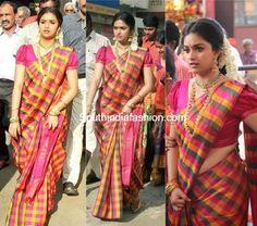 Keerthy Suresh at her sister Revathy Sureshs Wedding photo