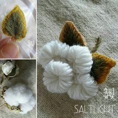 cotton bush embroidered