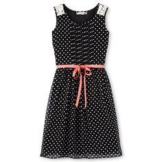 Speechless® Polka Dot Chiffon Dress - Girls 7-16 - jcpenney