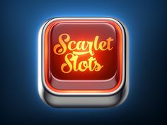 Scarlet Slots Icon by Vyacheslav Abushkevich