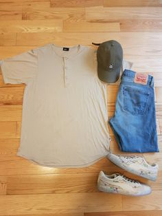 keep it simple. #published #obey #puma #levis