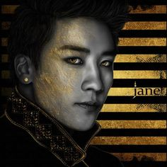 SEUNGRI. GOLD SERIES. #JaneSallvadore #Art #artist #예술가 #digital_art #illustrations #digital_painting #그림 #gold #cs6 #kpopart #BIGBANGART #BIGBANG #빅뱅 #MADE #VIP #madewithlove  #SEUNGRI #seungriseyo @seungriseyo
