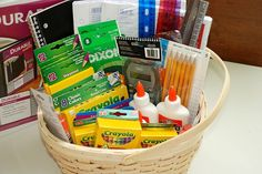 Will Cook For Smiles: #BagItForward School Supplies for Kids in Need and a Kid's Door Sign