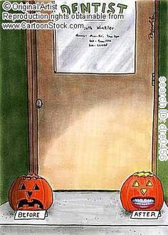 Halloween humor #deltadental  west chester Dental Arts   403 n. five points road  west chester, PA 19380  (610)696-3371