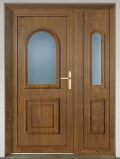 GAVA 021 Entrance door with plastic door panel GAVA shade of golden oak. Another shade can be found at: www. Golden Oak, Door Curtains, Types Of Doors, Entrance Doors, Diy Door, Panel Doors, Door Design, Shades, Plastic