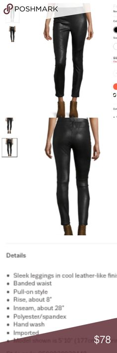 Free People Faux Black Leather Leggings You'll love the comfort and sheen and slick style of these free people faux leather leggings in black - nice sheen to them so - dress it up ! Or down ... comfortable to boot. Free People Pants Leggings