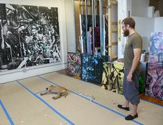 Kris Chatterson / Studio Visit - Progress Report
