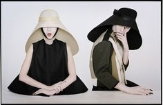 ///Xiao Wen & Lui Wen as Samurai Nuns, Tim Walker, New York, 2011 © Tim Walker