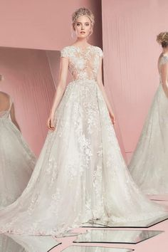 Browse couture wedding dresses from Zuhair Murad bridal collection. View photos of Zuhair Murad wedding dresses from current and past collections. Zuhair Murad Mariage, Zuhair Murad Bridal, Zuhair Murad Dresses, Wedding Dressses, 2016 Wedding Dresses, Bridal Dresses, Wedding Gowns, Bridesmaid Dresses, Dresses 2016