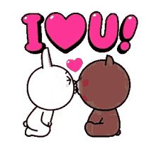 The perfect BrownAndCony Cuddle Love Animated GIF for your conversation. Cute Cartoon Images, Cute Couple Cartoon, Cute Love Pictures, Cute Love Gif, Cute Love Cartoons, Love Kiss, Cute Cartoon Wallpapers, I Love You Gifs, I Love You Hubby