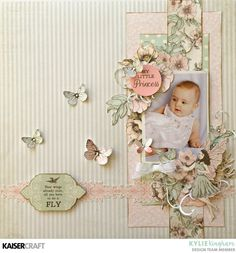 Dancing with Fairies ~ A layout by Kylie. - Kaisercraft Official Blog