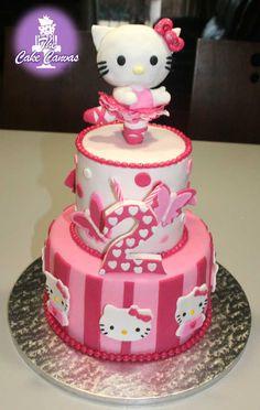 Olivia wants this one - Hallo Kitty Cake