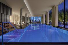 Luxe en toute simplicité au spa du Royal Savoy à Lausanne, en Suisse.
