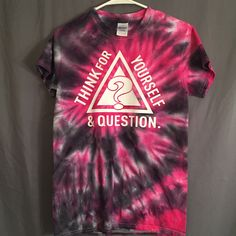 Think For Yourself & Question Bassnectar Tie Dye T-Shirt
