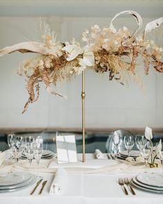 Lunaria Wedding Ideas | One Fab Day Simple Centerpieces, Centrepieces, Wedding Centerpieces, Wedding Table, Floral Wedding Decorations, Wedding Flowers, Wedding Flower Inspiration, Wedding Ideas, Floating Flowers
