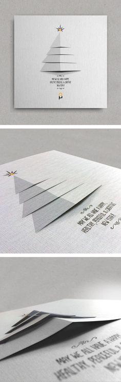 Inspiration graphique #2 : 30 cartes de voeux originales pour vous donner des idées ! | Blog du Webdesign: