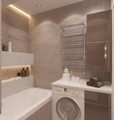 Проект квартиры в Питере - Дизайн гостиной. Contemporary interior design, bathroom