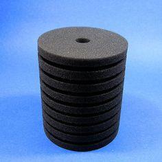2x 150gal Aquarium Biochemical Replacement Filter Sponge -l active bacteria foam