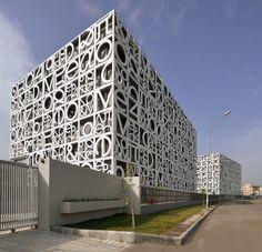 abin design studio newtown school kolkata west bengal india designboom