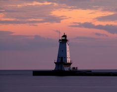 North Breakwater Lighthouse, Ludington MI