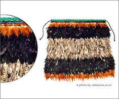 Maori feather cloaks are known as korowai. We feature baby korowai, children's korowai and adult's korowai Maori Designs, Cloaks, Weaving Techniques, Feather, Mantles, Quill, Capes, Feathers, Rain Coats