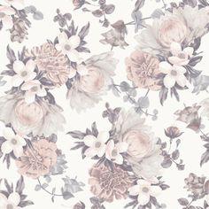 Tempaper Botanical Self-Adhesive Wallpaper Blossom - BO510
