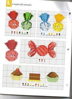 For children ... cross stitch (p 100.)   Learn Crafts is facilisimo.com