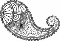 Japanese Embroidery Patterns Paisley Patterns for Irish Crochet and Sewing Motif Paisley, Paisley Art, Paisley Design, Paisley Pattern, Paisley Drawing, Paisley Stencil, Paisley Doodle, Paisley Flower, Doodles Zentangles