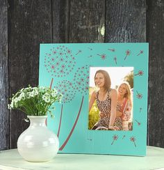 Create this project with Americana Decor® Maxx Gloss™ — Americana Decor® Maxx Gloss™ gives this frame spring shine and polish.