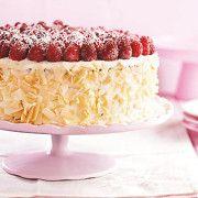 Многослойный торт с сырным кремом и ягодами >> Tnuva.ru