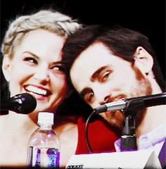 OUAT - So stinkin' cute!  They must be really good friends.