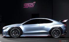 Subaru 'VIZIV Performance STI Concept' Revealed at Tokyo Auto Salon