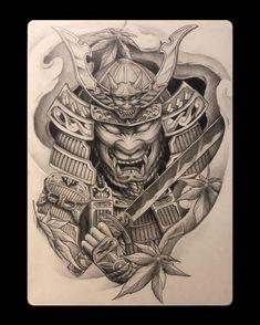 Samurai Tattoo, Skull, Tattoos, Wristlets, Tatuajes, Tattoo, Tattos, Skulls, Sugar Skull