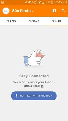 Eventbrite  for Android empty state