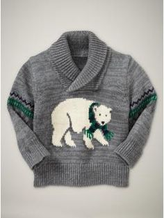 647d7e84877 polar bear shirt heather grey 19.99 0-3 months  871828 Man Cub