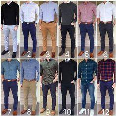 خبراء الازياء يختارون أجمل 12 نموذج تنسيق ملابس رجالي ~°•♤