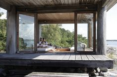 Interior, Design and Lifestyle Veranda Design, Tiny Cabins, Backyard Retreat, Coastal Cottage, Cabin Homes, Glass House, House In The Woods, Deco, Architecture Design
