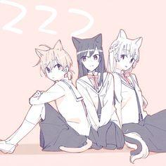 Anime Girlxgirl, Yuri Anime, Chica Anime Manga, Kawaii Anime, Anime Art, Cute Anime Character, Character Art, Baby Avengers, Lesbian Art