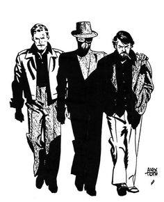 Alex Toth illustration