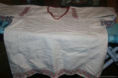 Купить Фартук с рукавами, старинный в интернет магазине на Ярмарке Мастеров