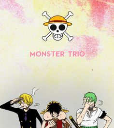 SZL monster trio one piece anime