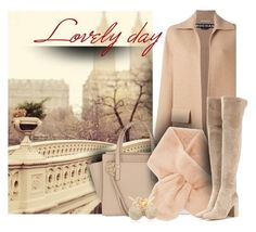 """lovely day"" by sandevapetq ❤ liked on Polyvore featuring Rochas, Salvatore Ferragamo, Forever 21, Gianvito Rossi and Loushelou"