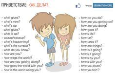 Ways to say HELLO!